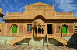 Indie, Jaisalmer, Mandir Palace