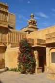Indie, Jaisalmer, Mandir Palace, wieża Badal Vilas
