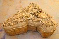 Indie, Jaisalmer, makieta Fortu Jaisalmer