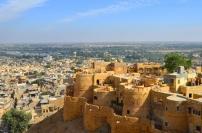 Indie, Jaisalmer, widok z jednego ze skrzydeł Fortu Jaisalmer