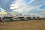 Indie, pustynia Thar, Sam Sand Dunes, obóz Spirit Desert Camp