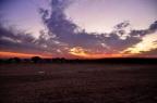Indie, pustynia Thar, Sam Sand Dunes, zachód słońca w obozie Spirit Desert Camp