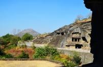 Indie, Maharasztra, okolice Aurangabad, jaskinie Ellora (Ellora Caves)