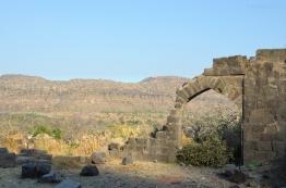 Indie, Maharasztra, okolice Aurangabad, Fort Daulatabad, widok z fortu